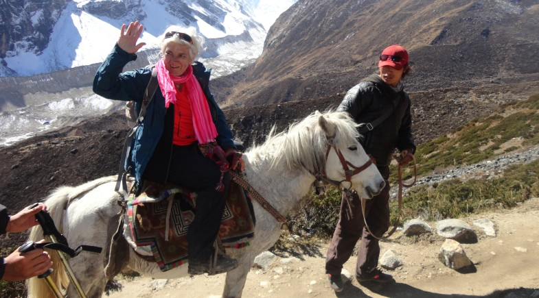Pony Larke pass trek